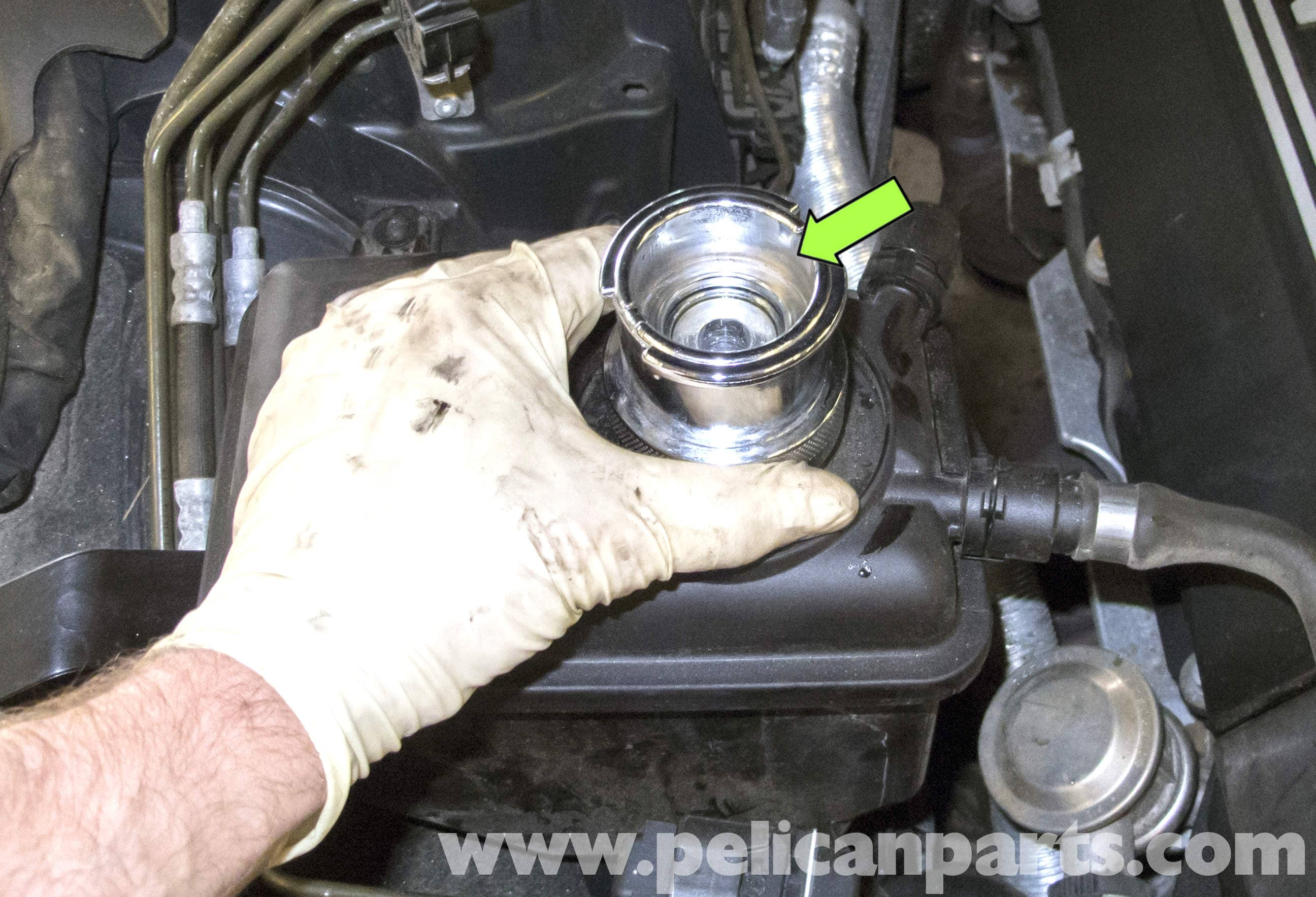 BMW E60 5-Series Cooling System Leak Test (2003-2010