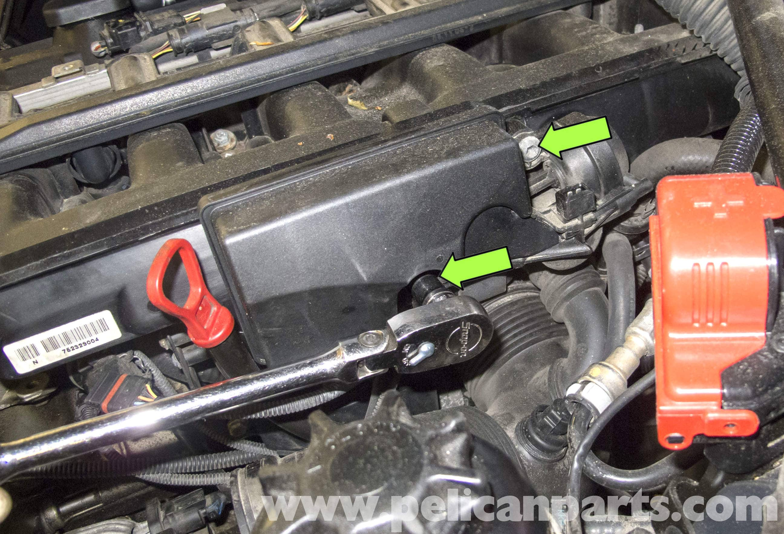 BMW E60 5-Series DISA Valve Replacement (M54 6 Cylinder