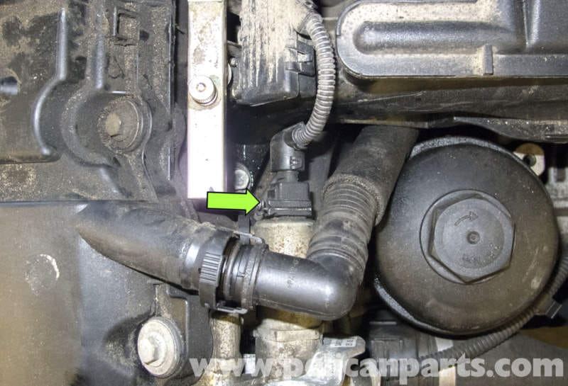 pic03 bmw e60 5 series camshaft sensor replacement (m54 6 cylinder bmw vanos solenoid wiring harness at gsmportal.co