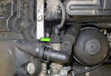 Intake camshaft sensor: Disconnect the VANOS solenoid electrical connector.