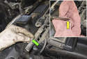 Remove fuse F72 in the engine electrical box (check that this fuse applies to your vehicle).