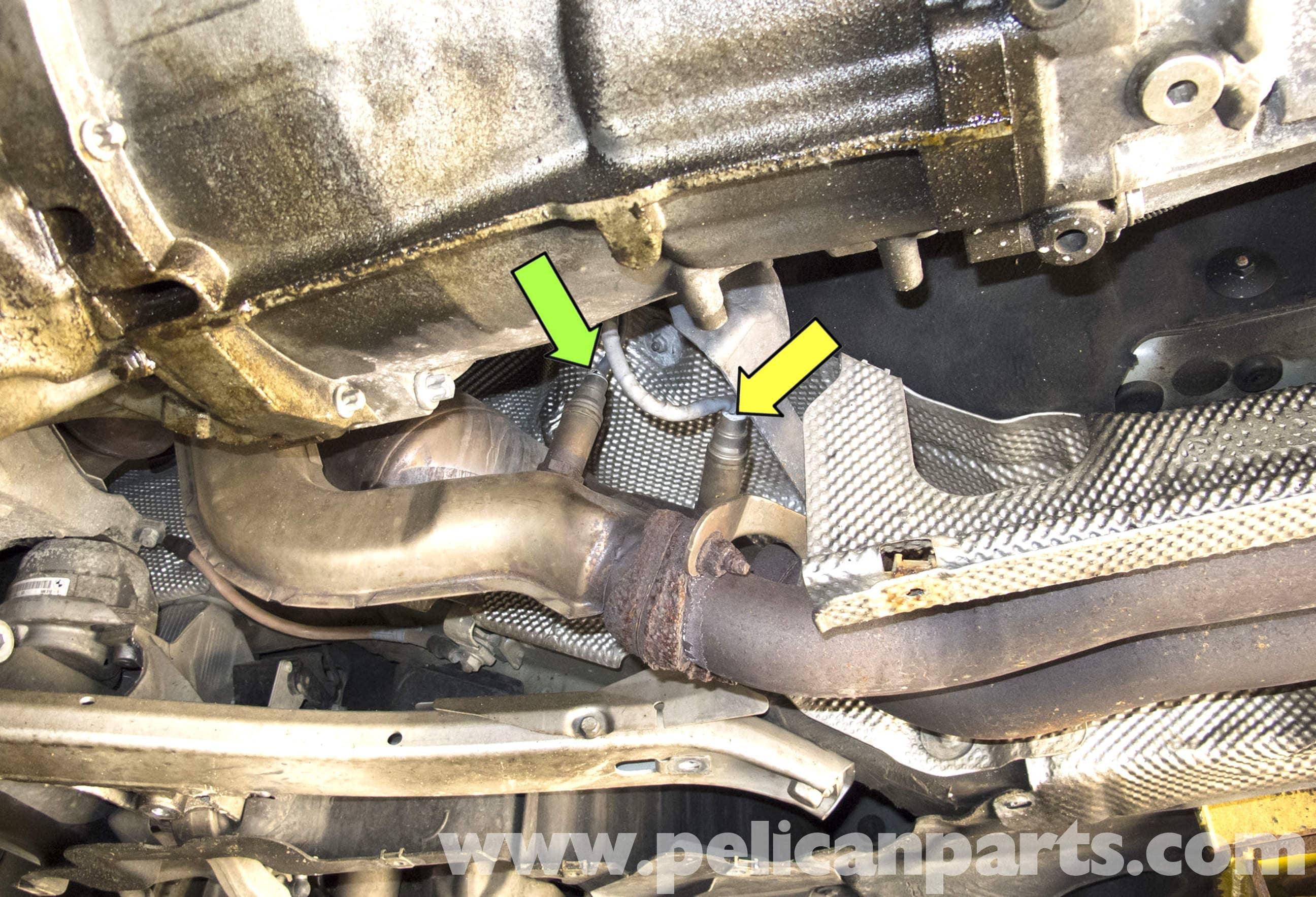 pic02 bmw e60 5 series 6 cylinder engine oxygen sensor replacement 2011 Dodge Nitro at soozxer.org