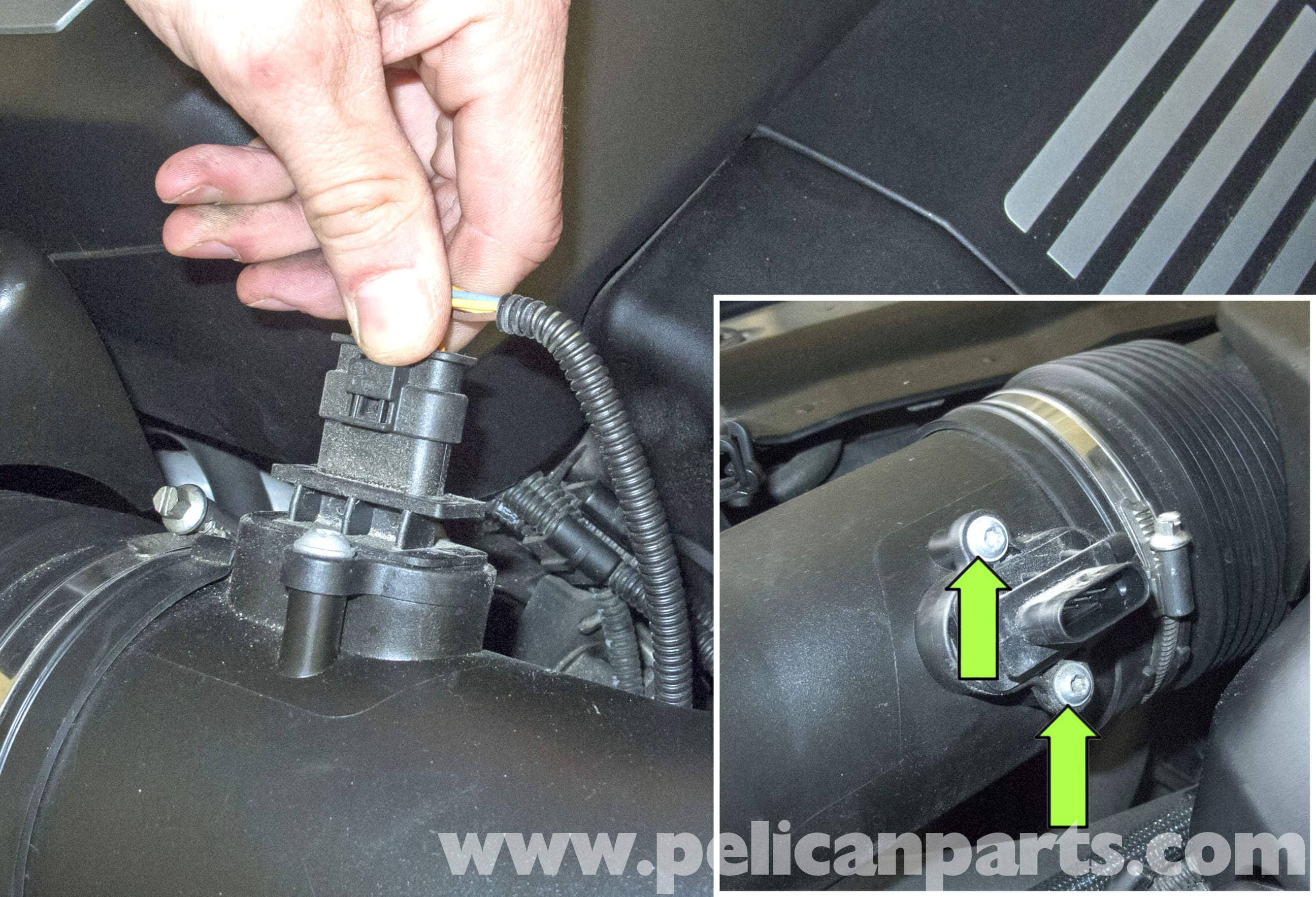 Check Engine Light Flashing >> BMW E60 5-Series Mass Air Flow Sensor Replacement (2003-2010) - Pelican Parts Technical Article