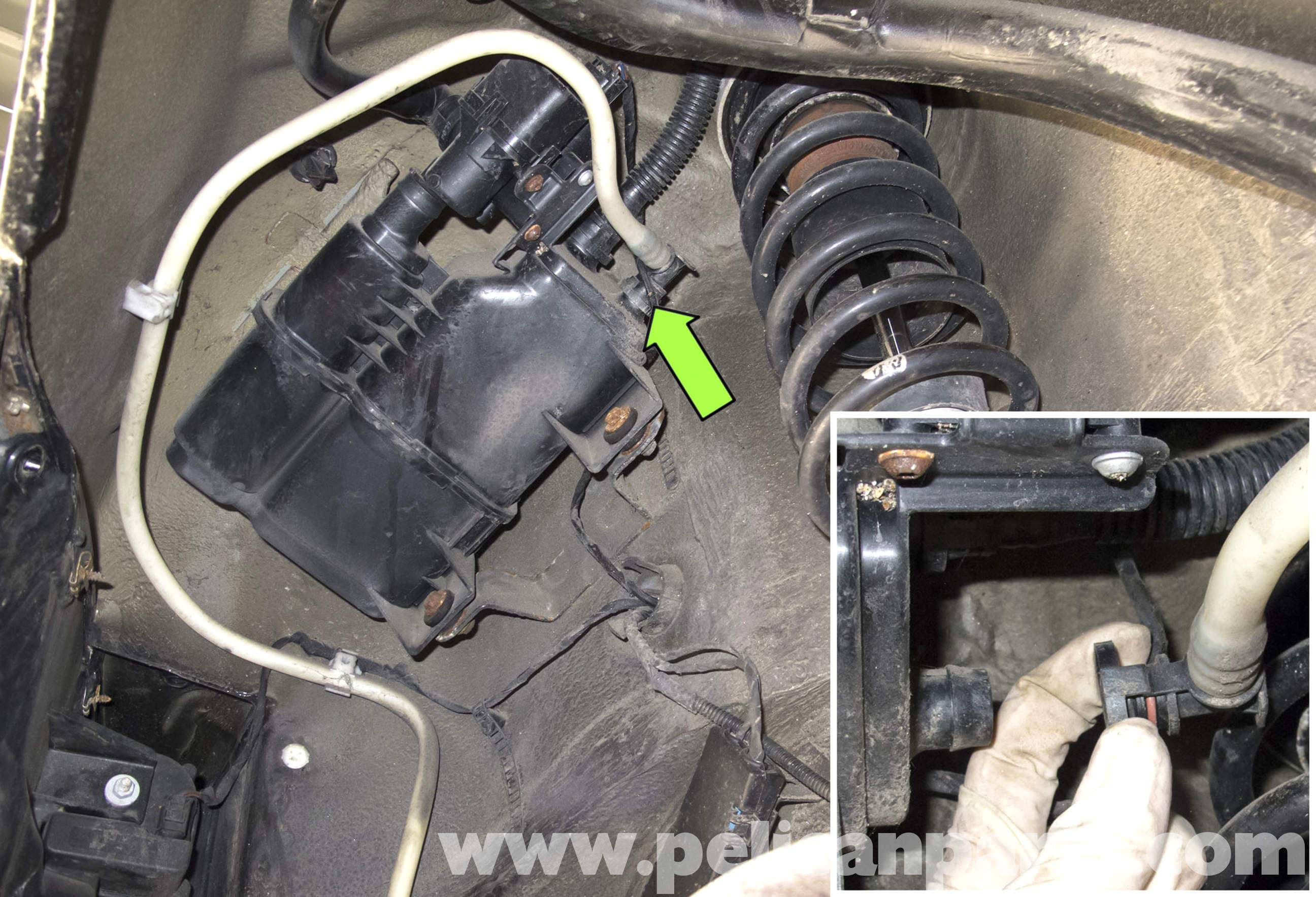 Bmw E60 5 Series Charcoal Canister Replacing 2003 2010