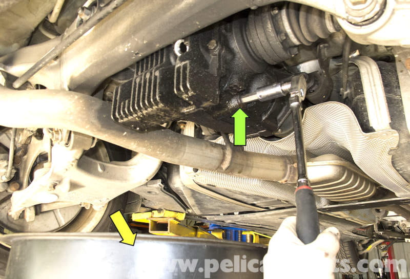 Bmw E60 5 Series Rear Differential Fluid Replacement 2003