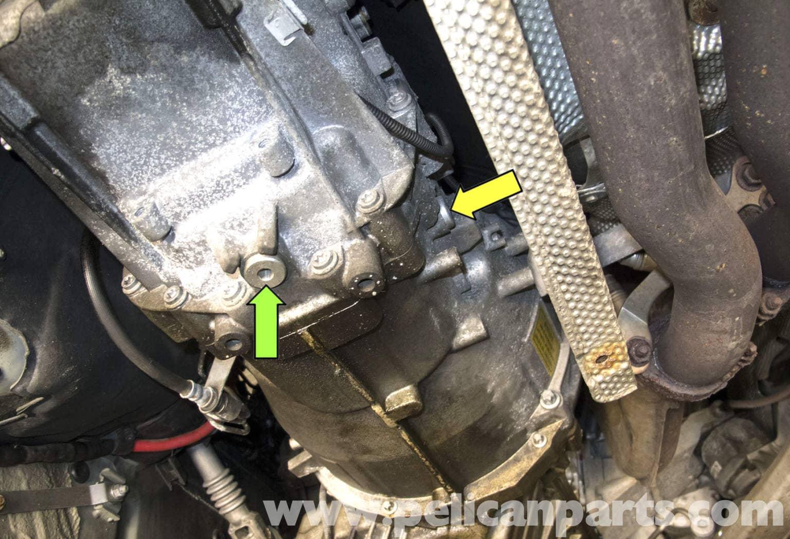 Bmw E60 5 Series Manual Transmission Fluid Replacing 2003