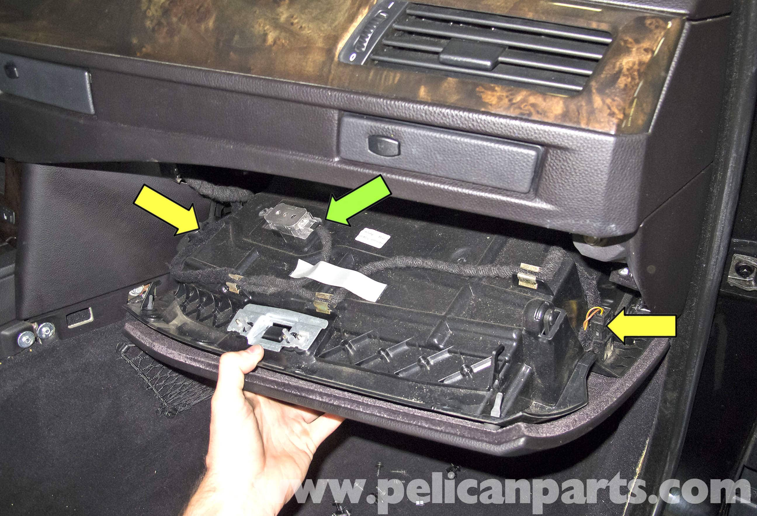 bmw e90 fuse box removal image 2