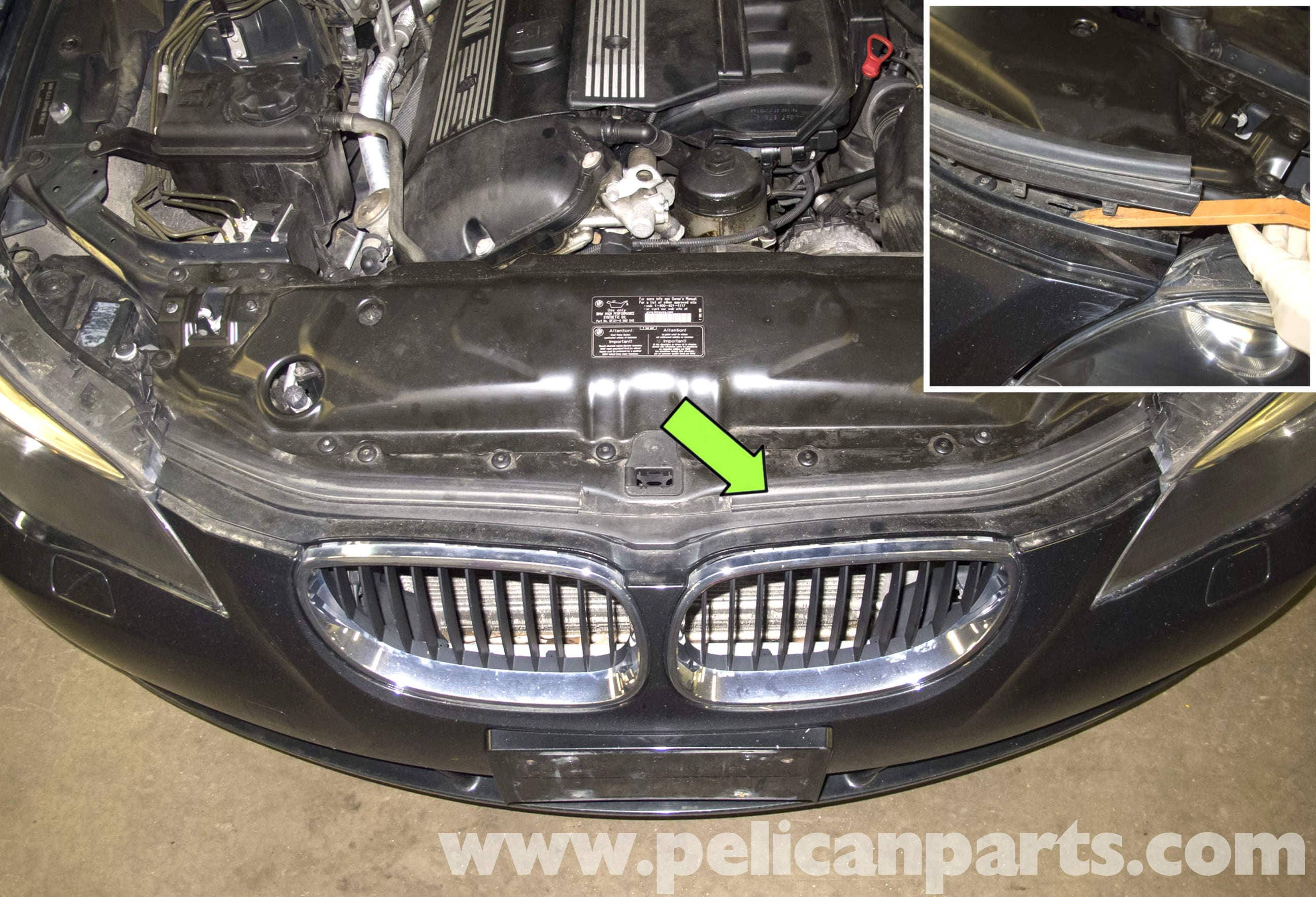 Bmw E60 5 Series Radiator Grille Replacement 2003 2008