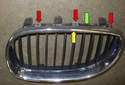 As mentioned earlier, in the past, the grilles could be separated to be serviced and were sold in pairs.