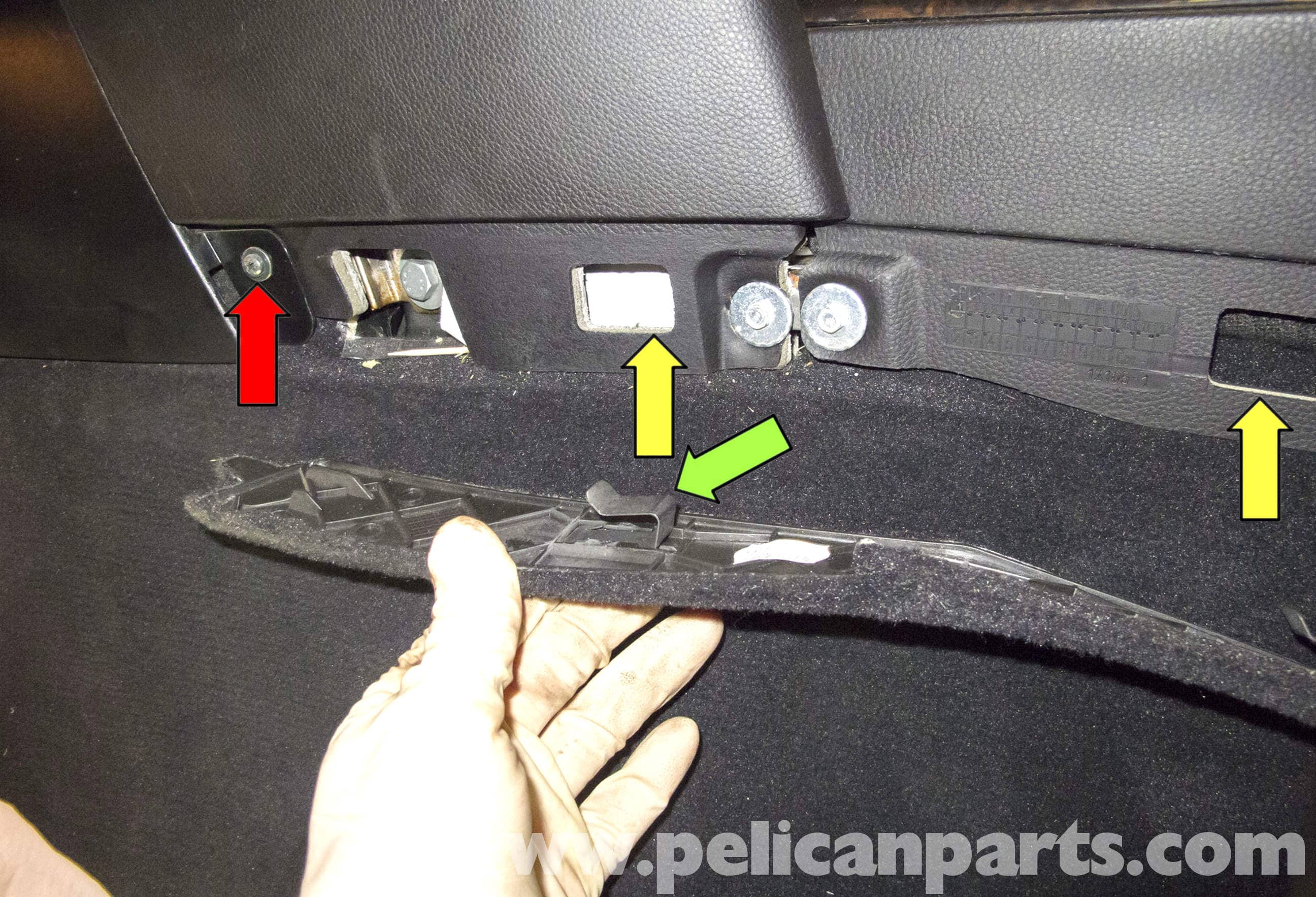 bmw e60 5 series lower dashboard trim replacement 2003. Black Bedroom Furniture Sets. Home Design Ideas