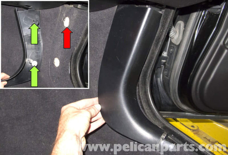 Bmw E60 5 Series Lower Dashboard Trim Replacement 2003