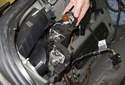 Pull the socket assembly away from the taillight housing and remove it.