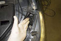 Turn Signal Bulb: Rotate the bulb holder 45° counterclockwise and remove it from the headlight.