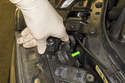 Front Driving Light: To access the halo (driving light) bulb, rotate the access door 30° and remove it from the headlight.