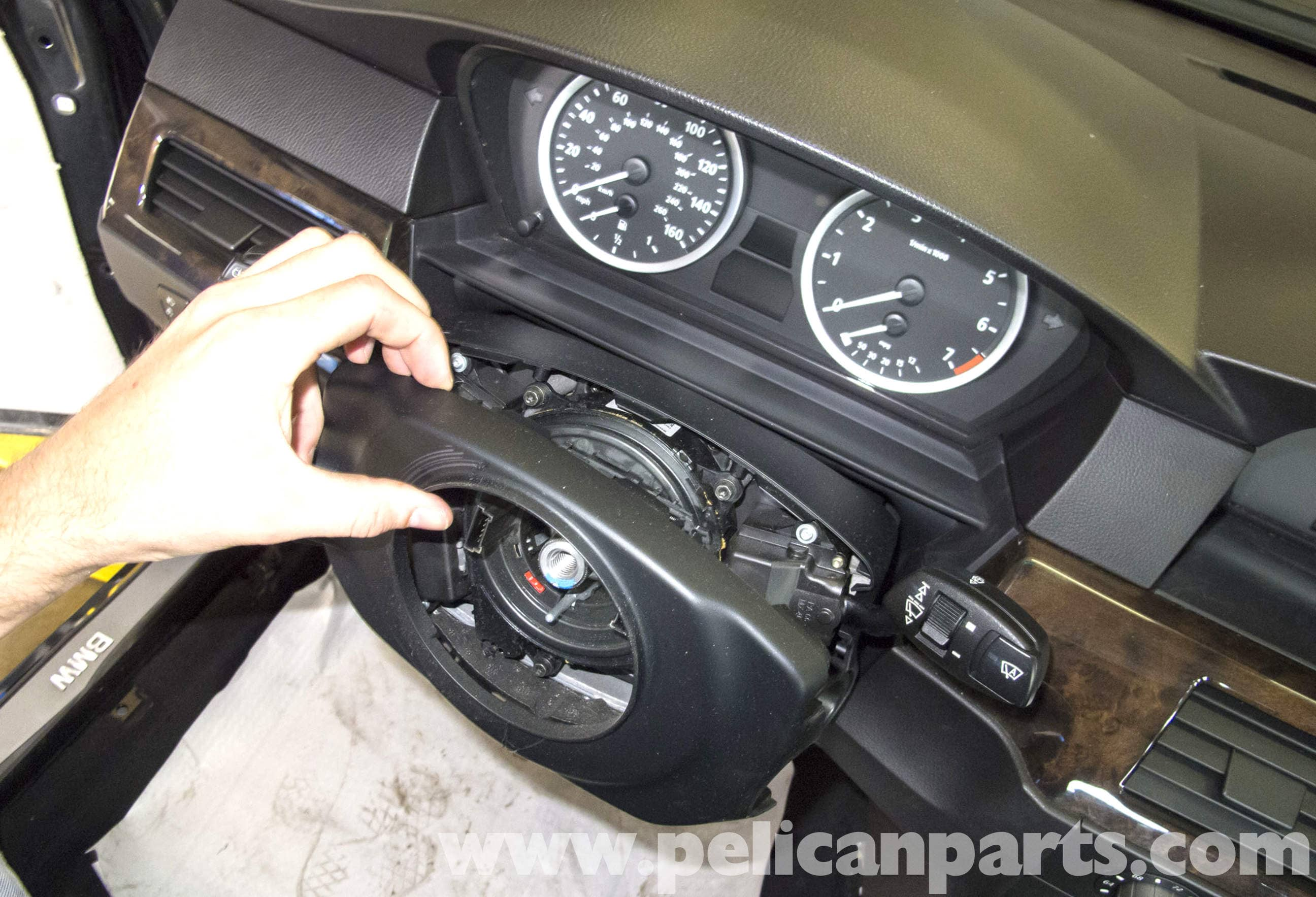 Bmw E60 5 Series Steering Column Switch Replacement 2003 2010 Wiring Of 12 Volt 2speed Wiper Steeringcolumnmounted Large Image Extra