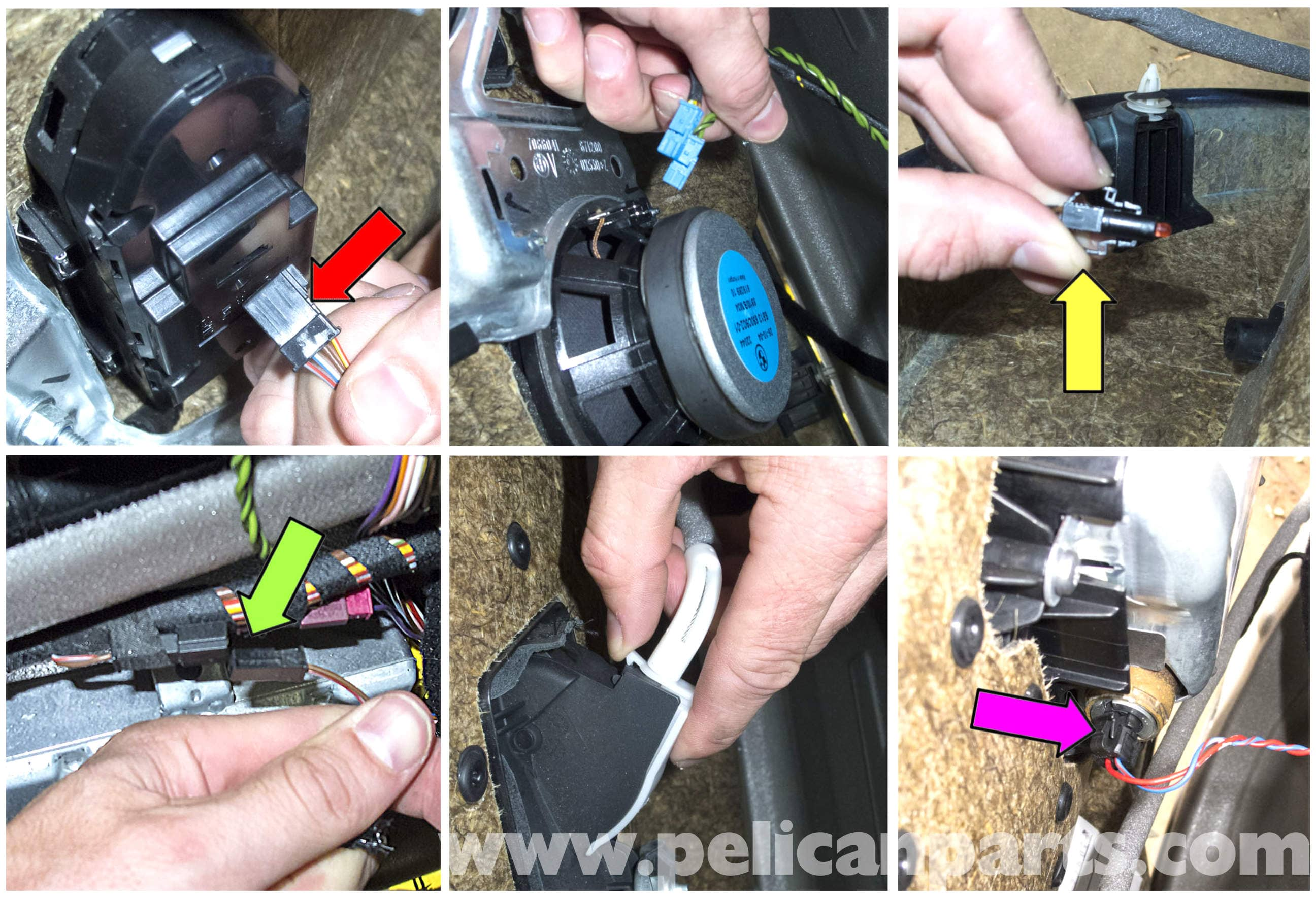 Bmw E60 5 Series Front Door Panel Replacement 2003 2010 Pelican Wiring Harness Clips Large Image Extra