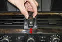 Hazard Light / Door Lock Switch: Next, pull the switch far enough out of the dashboard to access the electrical connector.