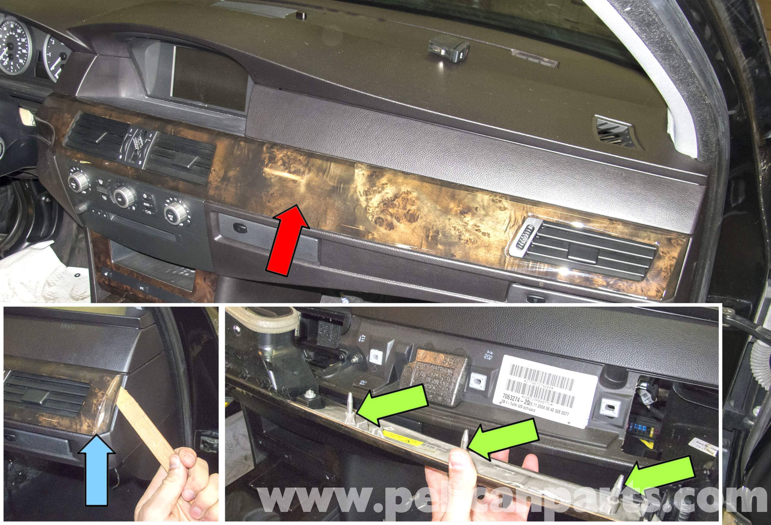 Bmw E60 5 Series Radio Ihka Panel And Seat Heat Controls