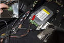 Airbag control module: You now have access to the airbag control module.