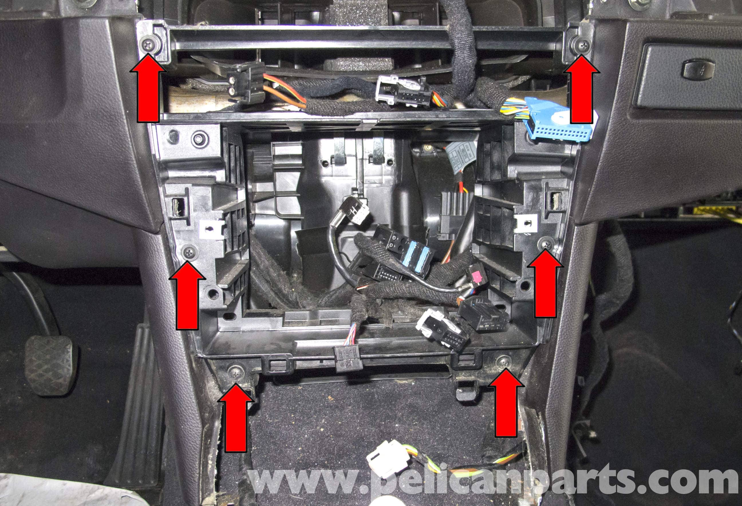 BMW E60 5-Series Blower Motor & Blower Motor Resistor Replacement ...