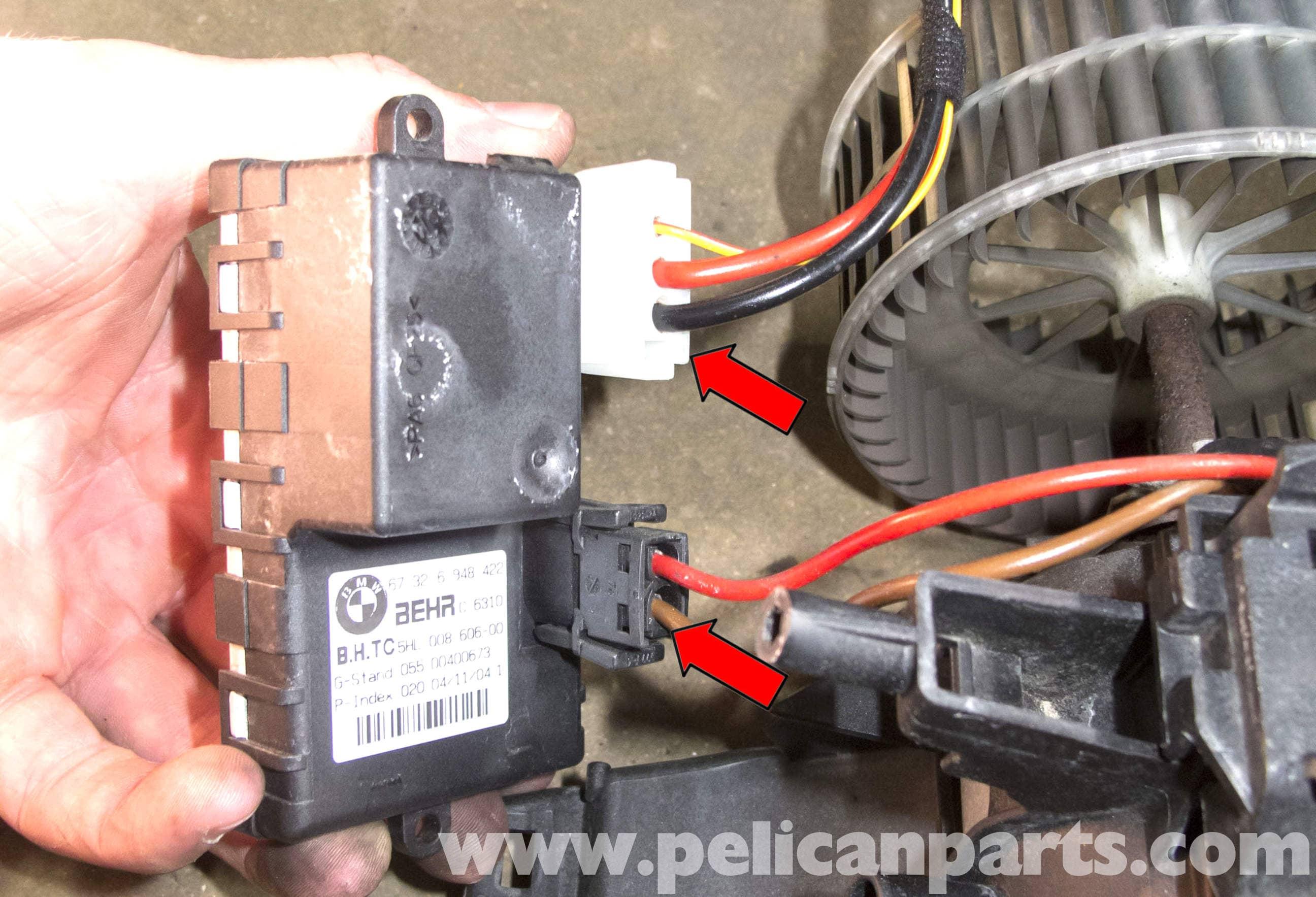 BMW E60 5-Series Blower Motor & Blower Motor Resistor
