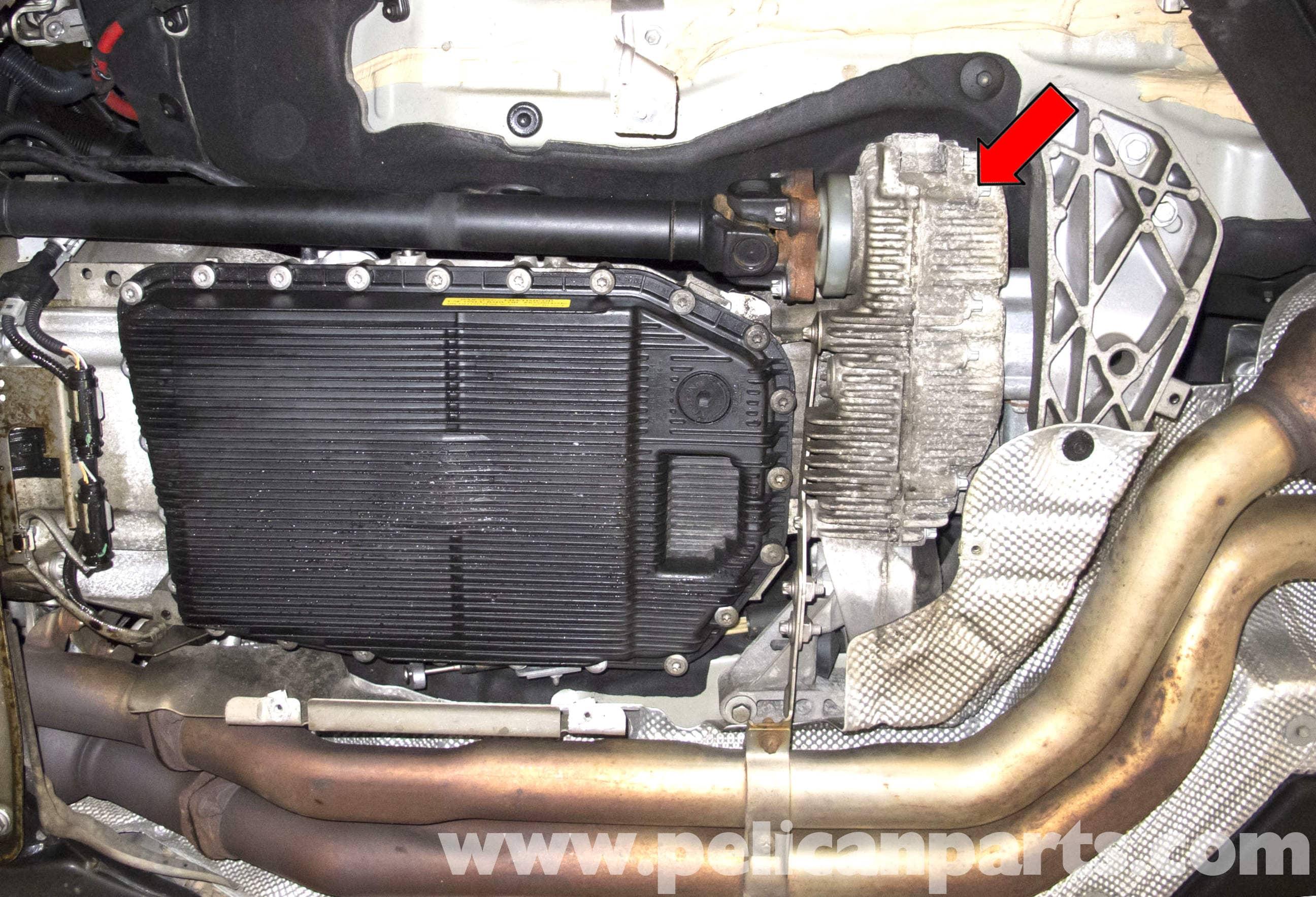 BMW E60 5-Series Transfer Case Fluid Replacing (2003-2010