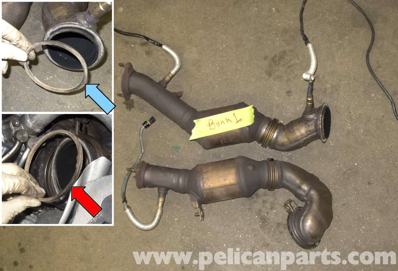 How To Replace Catalytic Converter >> BMW E60 5-Series Catalytic Converter Replacement (N54 ...