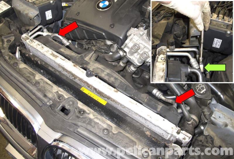 bmw 530i engine wire diagram    bmw    e60 5 series oil cooler replacement  n54    engine        bmw    e60 5 series oil cooler replacement  n54    engine