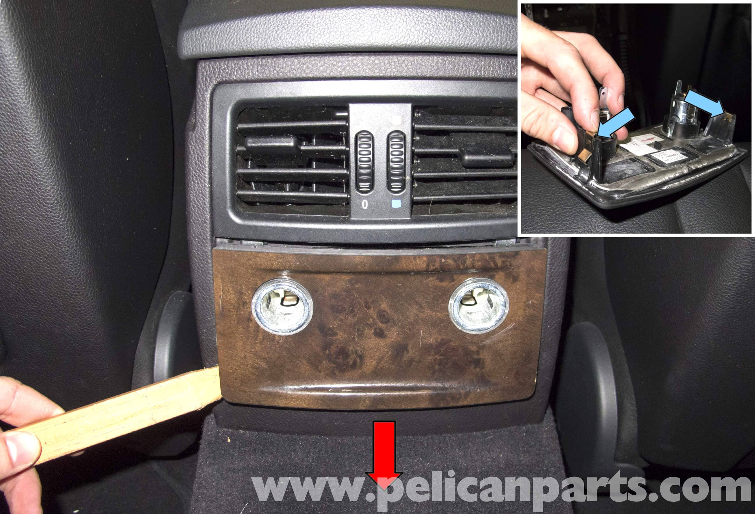 BMW E60 5-Series Center Console Replacement - Pelican Parts ...