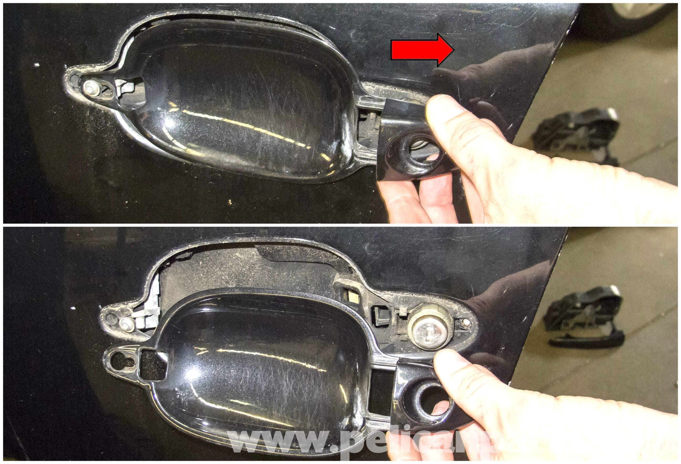 Bmw E60 5 Series Door Handle Replacement 2003 2010 Pelican Parts Technical Article