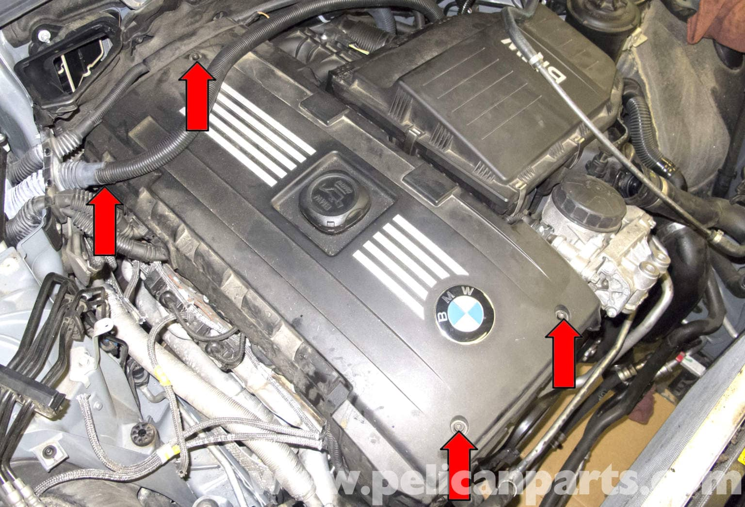 bmw e60 5 series n54 engine oxygen sensor replacement. Black Bedroom Furniture Sets. Home Design Ideas