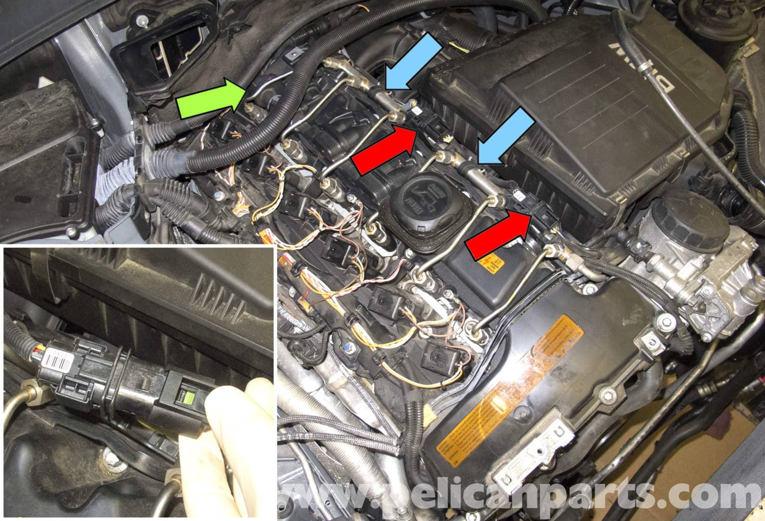 BMW E60 5 Series N54 Engine Oxygen Sensor Replacement