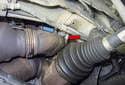 The red arrow identifies Bank 1 Sensor 1.