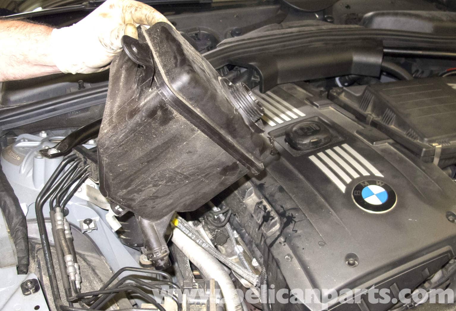 Bmw E60 5 Series Turbocharger Replacement N54 Engine Pelican 535i 1985 Electrical Repair Online Manual Sharing Large Image