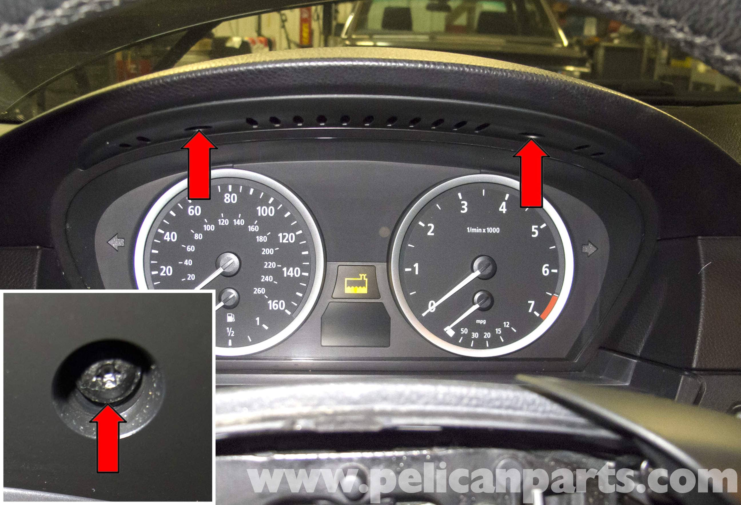 BMW E60 5-Series Instrument Cluster Replacement (2003-2010