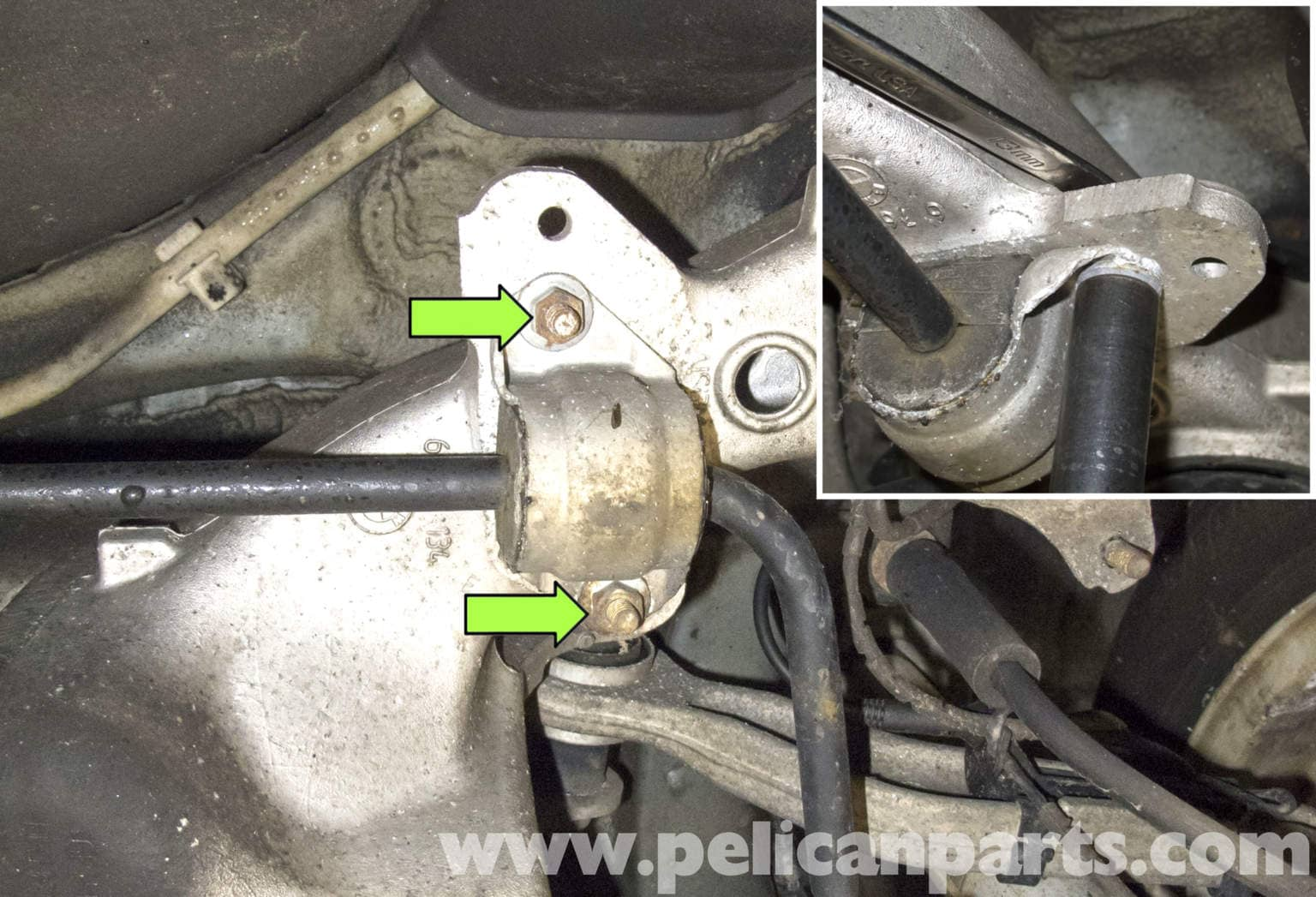 Bmw E60 5 Series Front And Rear Sway Bar And Sway Bar