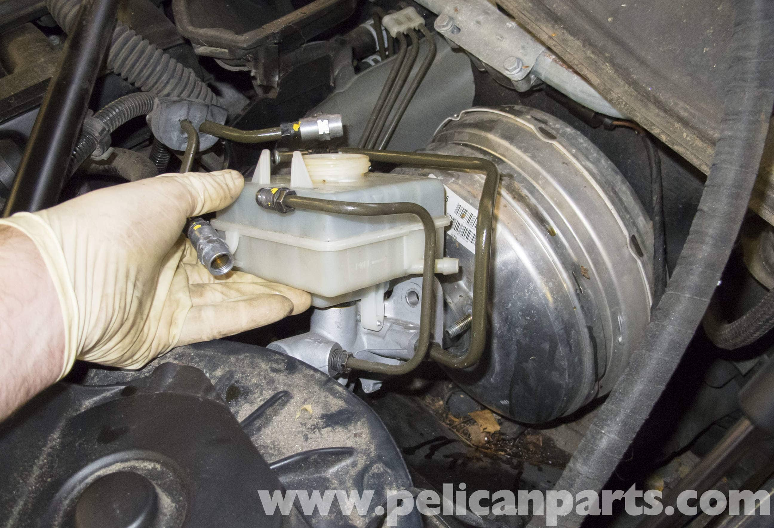 BMW E60 5-Series Brake Booster Replacement (2003-2010) - Pelican