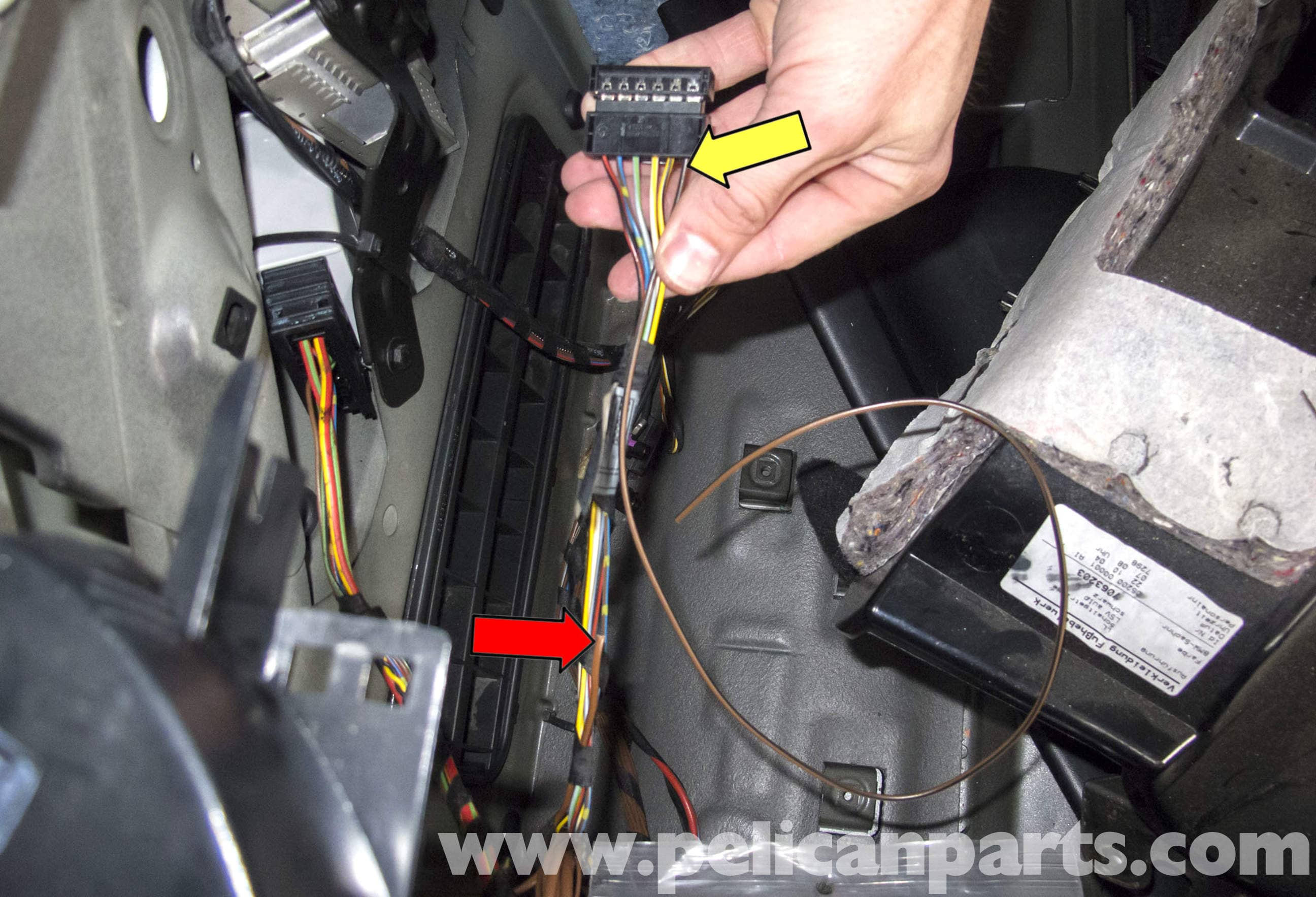 pic09 bmw e60 5 series taillight wiring repair (2003 2010) pelican Wire Harness Grommet at gsmx.co