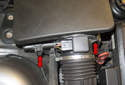 Next you will unclip the five air filter housing retaining clips.