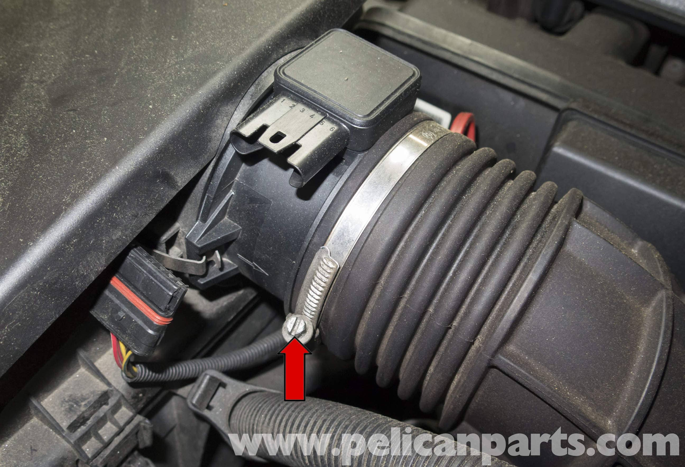 Pelican Parts Technical Article - BMW-X3 - Mass Air Flow