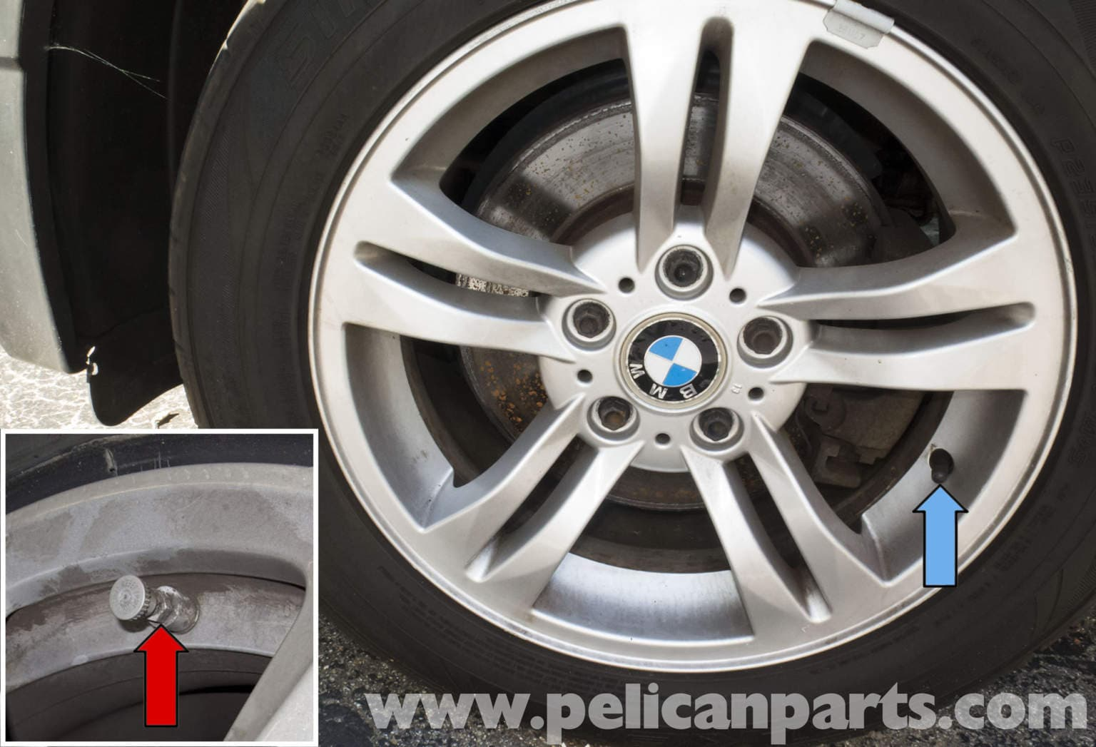 Pelican Parts Technical Article Bmw X3 Tire Pressure Monitoring