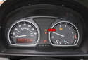 Resetting the tire pressure system: Once the button and the TPM light illuminates (red arrow) for a few seconds, drive your vehicle.