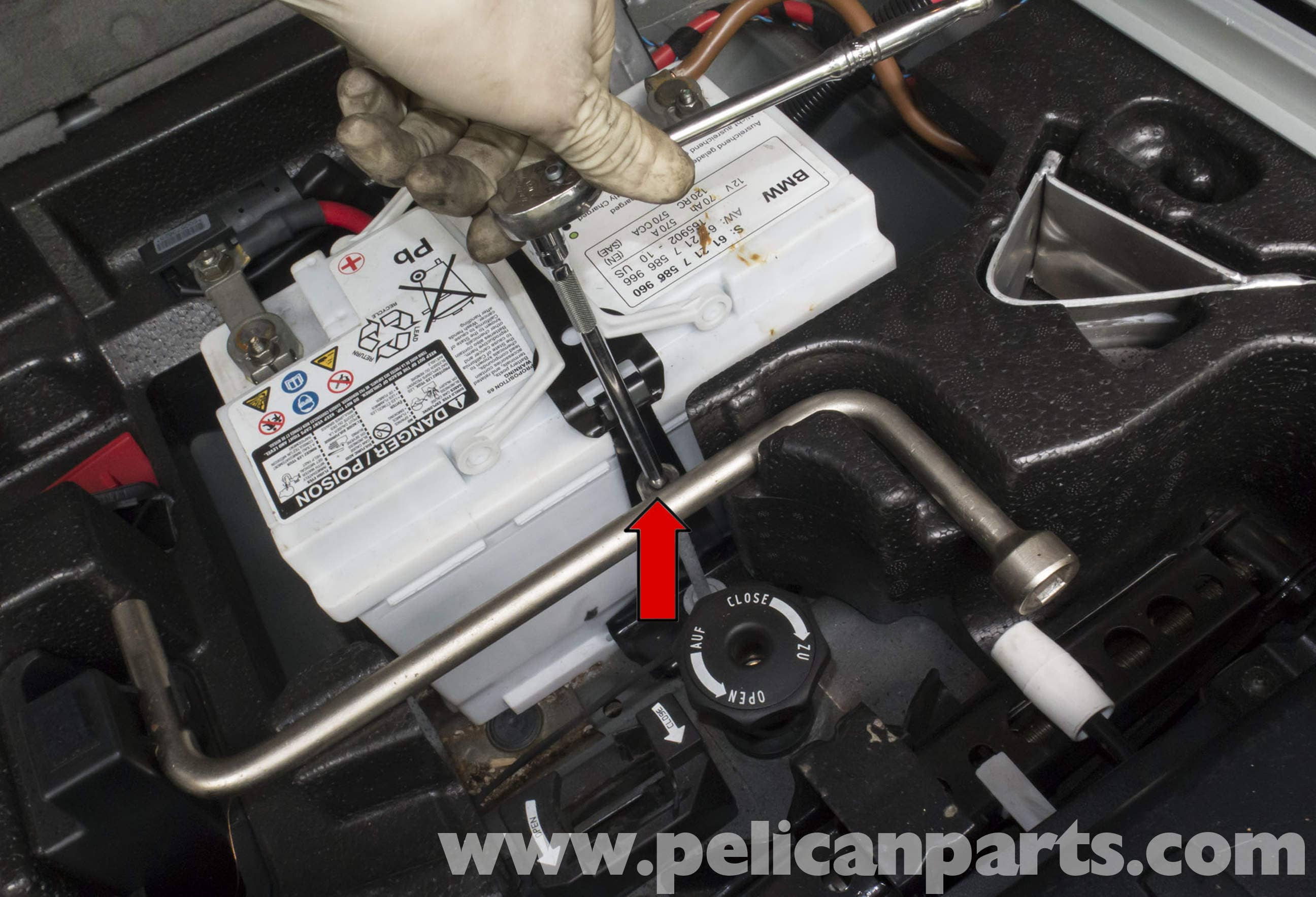 Pelican Technical Article Bmw X3 Battery Connection