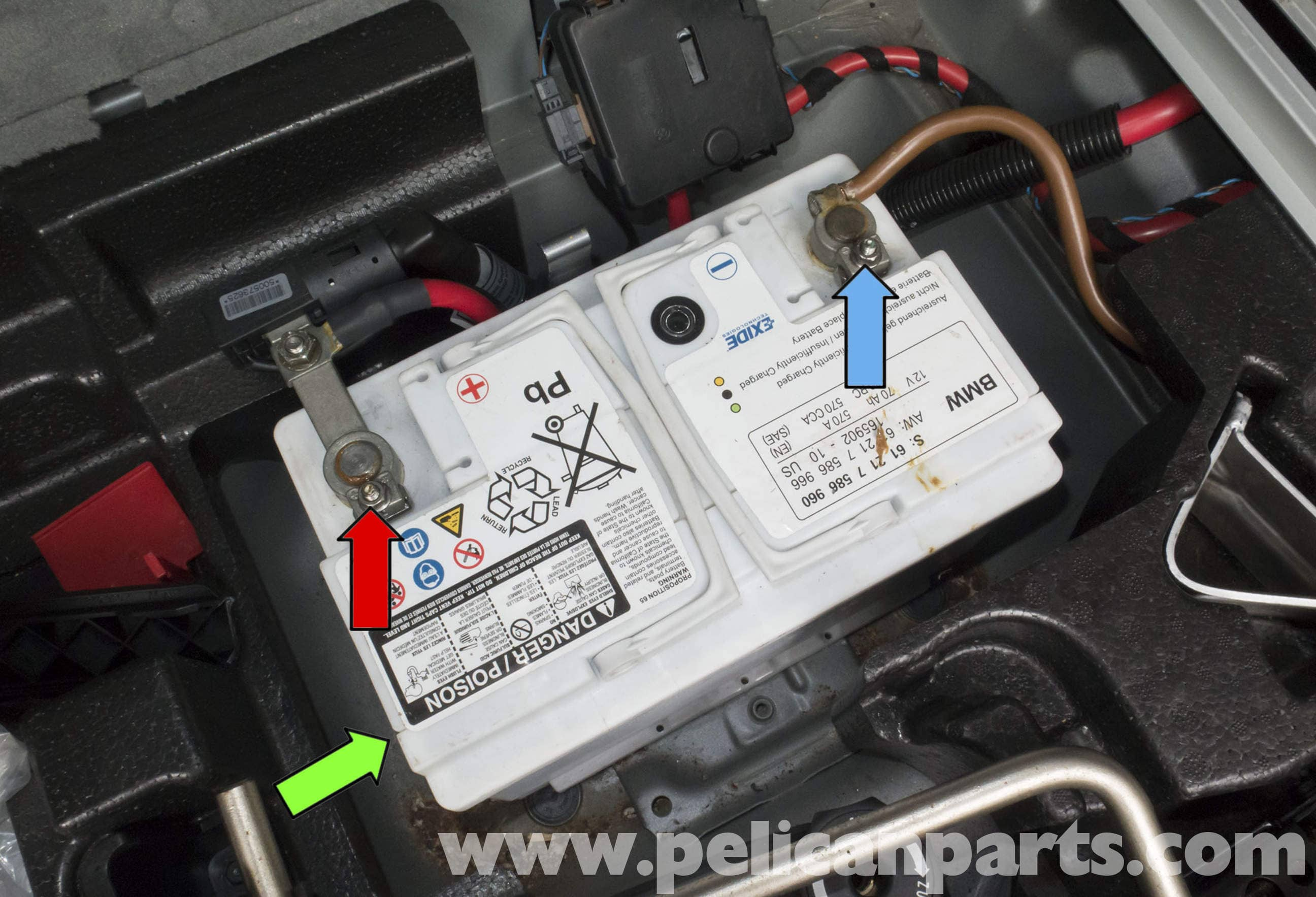 Pelican Parts Technical Article Bmw X3 Battery