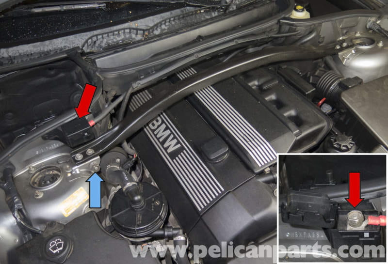 Pelican Technical Article   BMW X3   Battery Connection Notes and