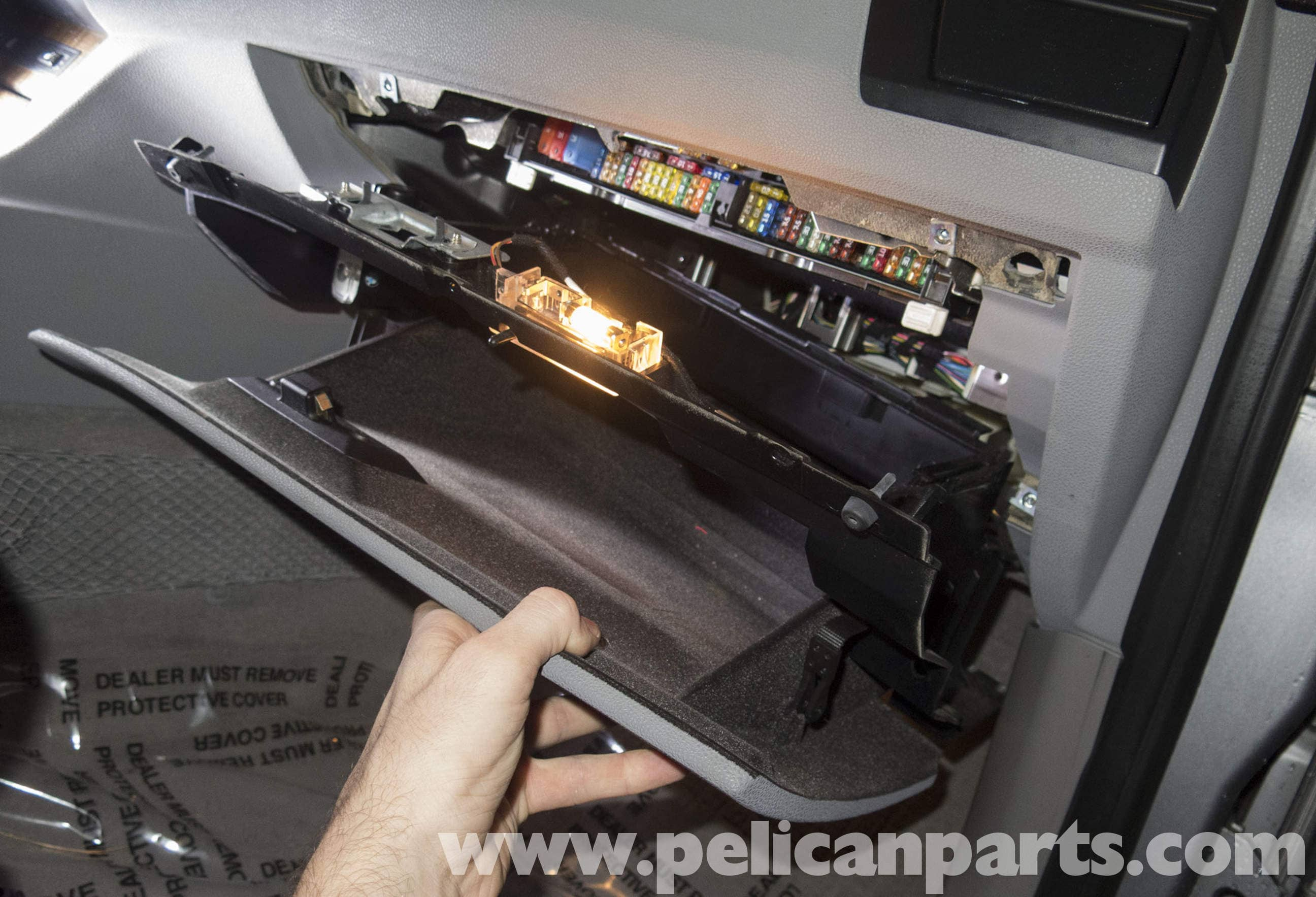 Pelican Technical Article Bmw X3 Glovebox Replacement