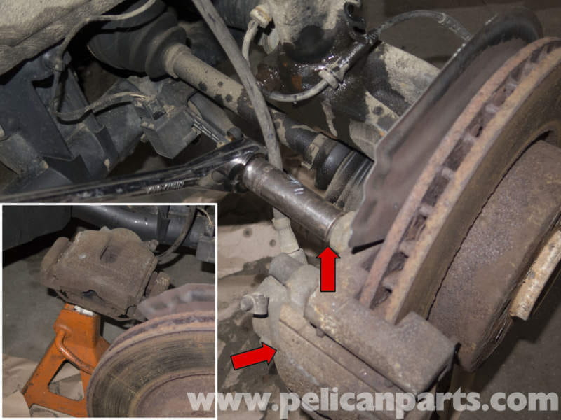 Pelican Technical Article Bmw X3 Front Strut Replacement