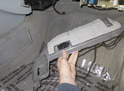 Then pull trim toward rear of vehicle to remove.