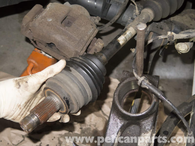 Pelican Parts Technical Article - BMW-X3 - Front Drive Axle