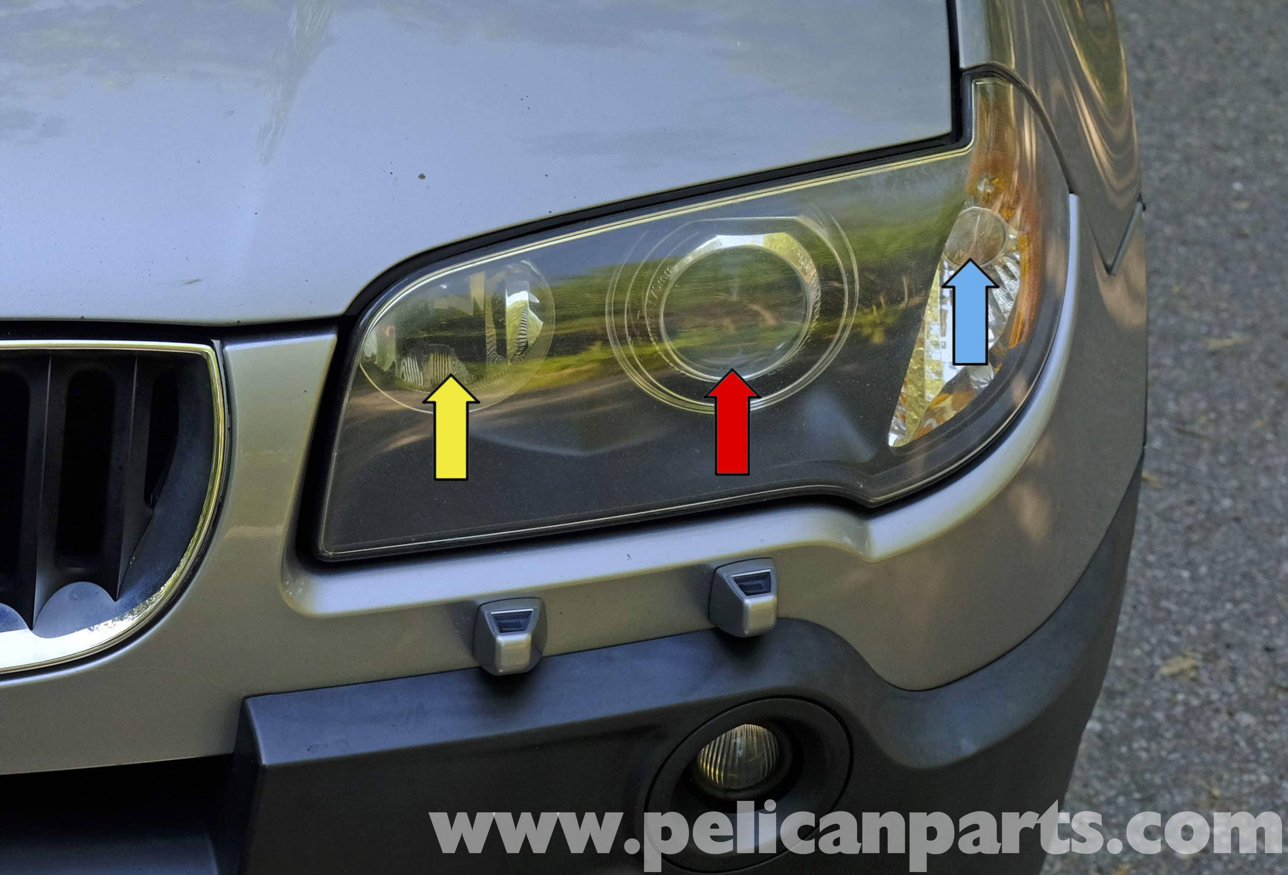 Pelican Technical Article Bmw X3 Headlight And Turn